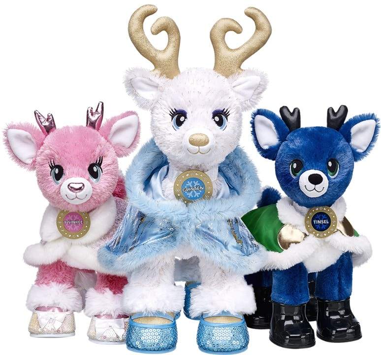 Build a Bear Reindeer Academy