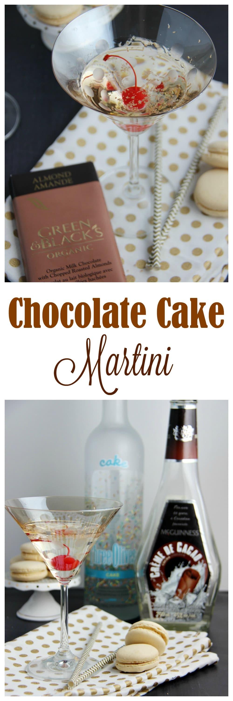 Deliciously Sweet Chocolate Cake Martini Recipe