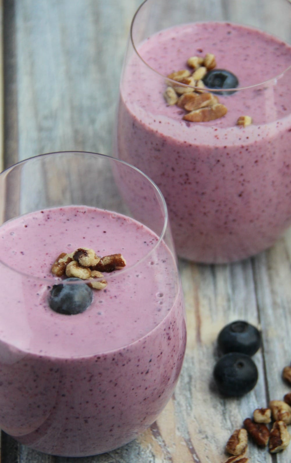 Fruit Nut and Oatmeal Smoothie