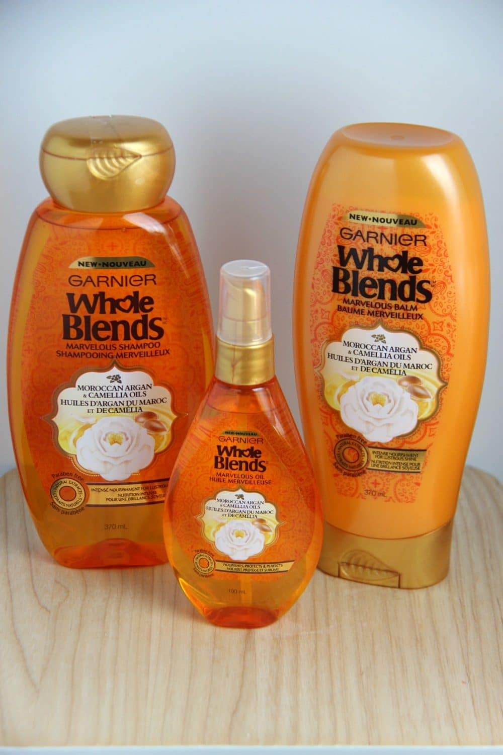 My Three Step Hair Care Ritual With Garnier Whole Blends