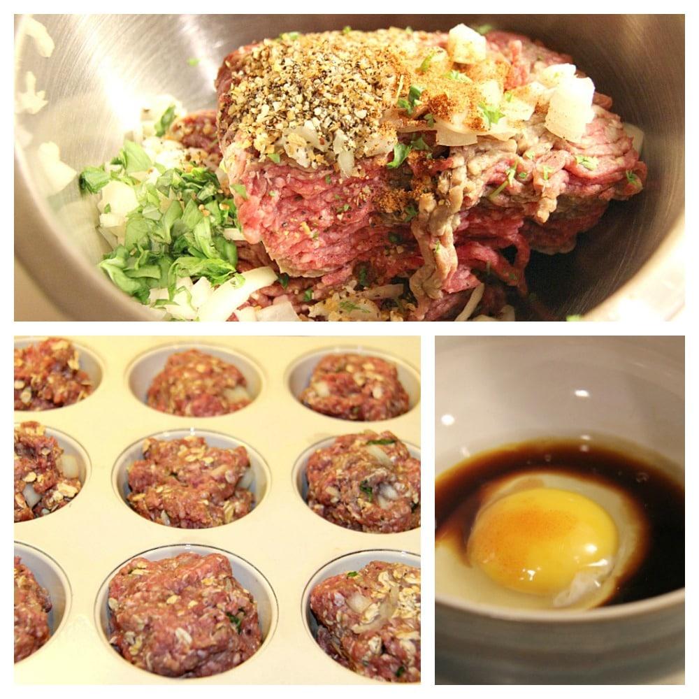 Mini Meatloaf Process
