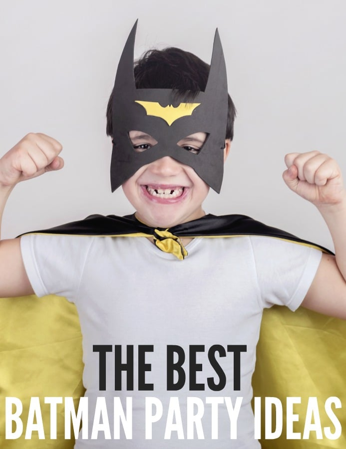 Best Batman Party Ideas