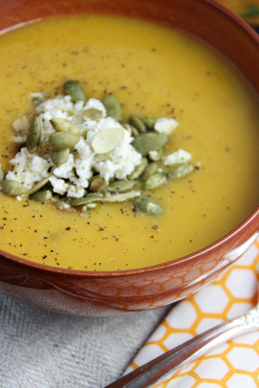 Campbells Golden Butternut Squash Soup - Gourmet soup at home