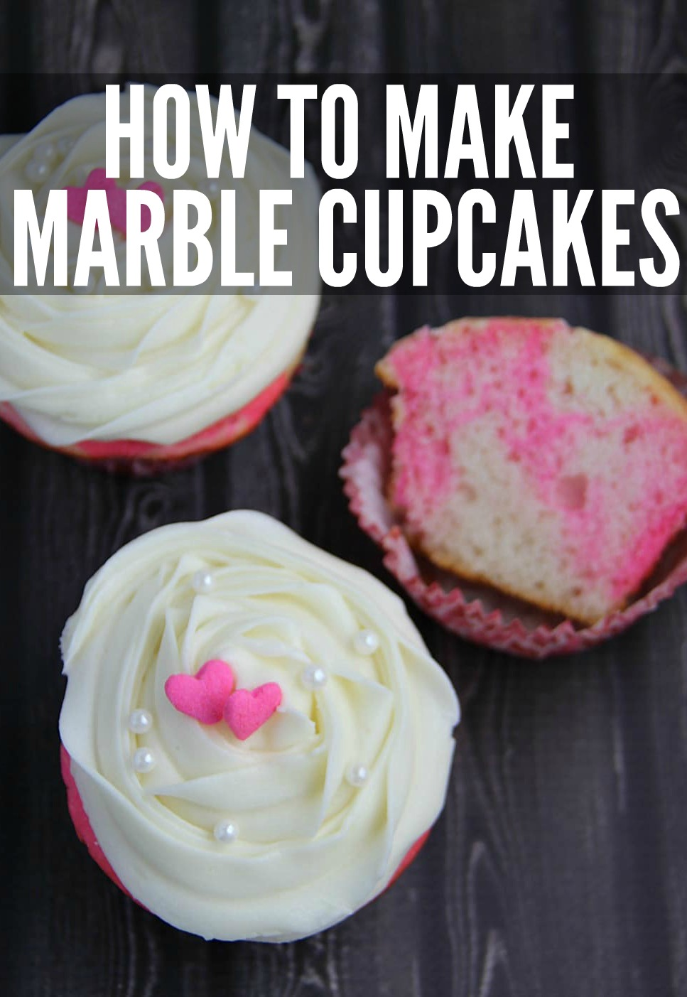How to Make Marble Cupcakes