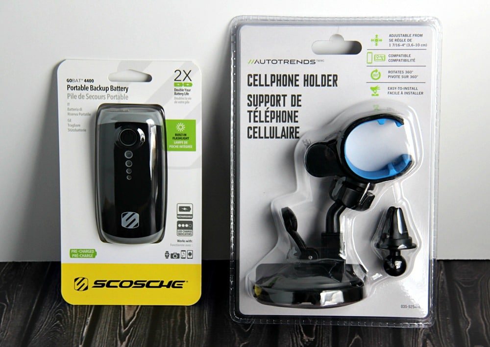 Cell Phone accessories for a road trip