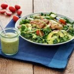 Cilantro Lime Avocado Vinaigrette