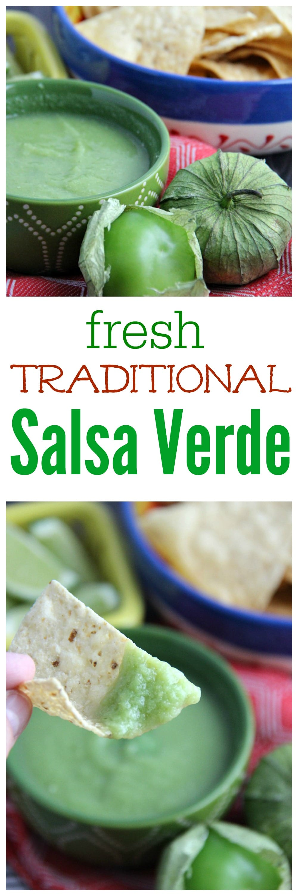Fresh traditional Salsa Verde Recipe