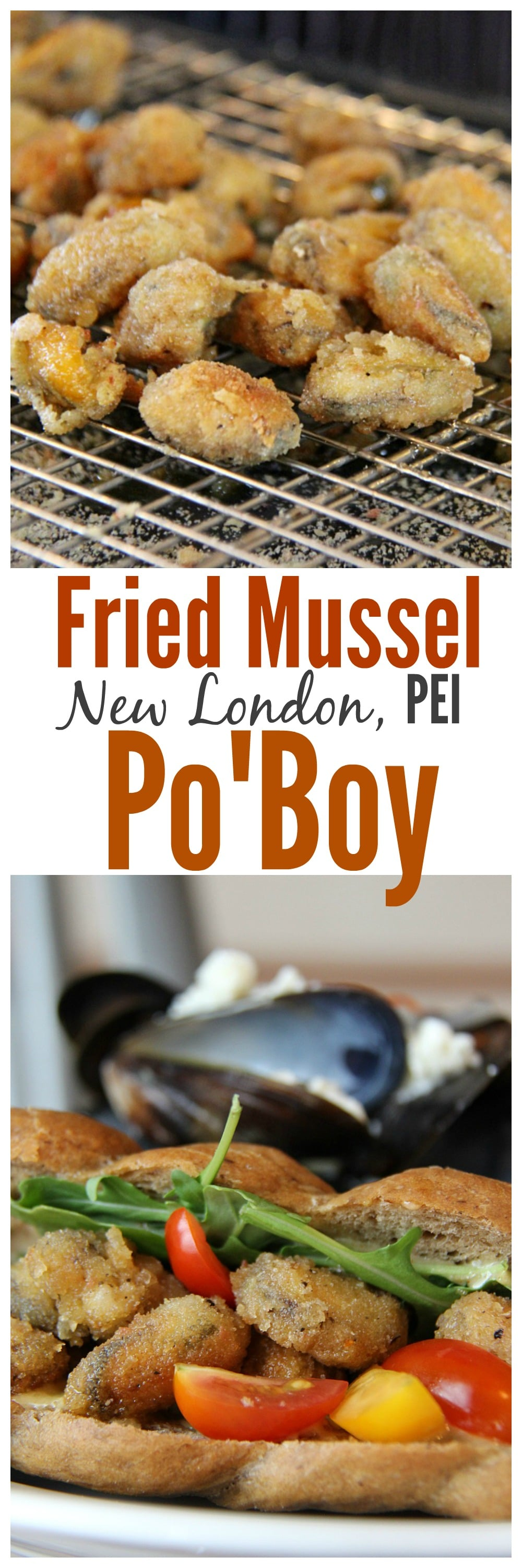 Fried Mussel Po Boy Recipe - Cooking Classes PEI
