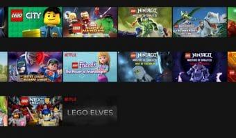 Lego Videos on Netflix