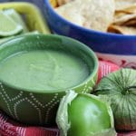 Traditional Salsa Verde (Green Tomatillo Salsa)