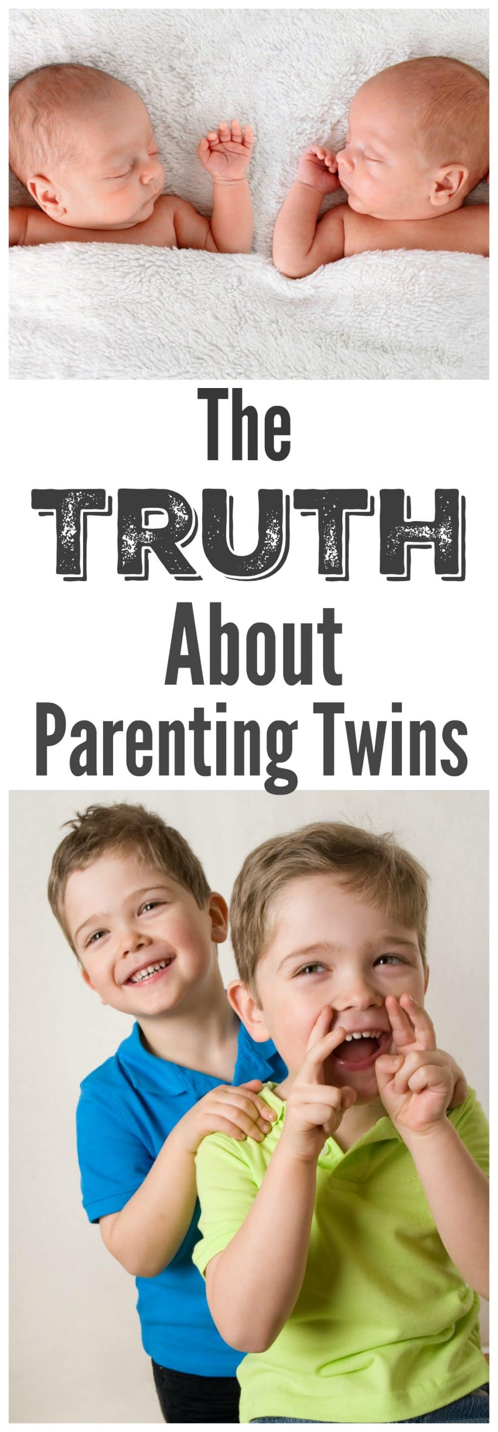 The Truth About Parenting Twins