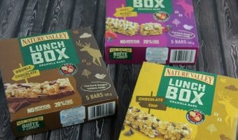 Peanut-Free Nature Valley Lunchbox Granola Bars #NatureMissions