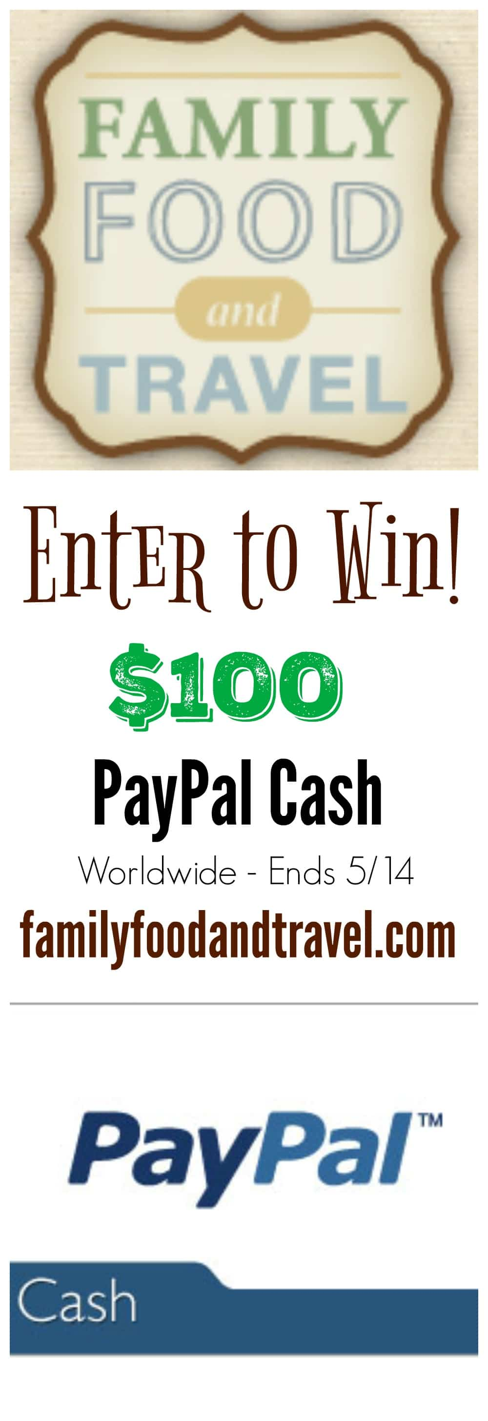 Celebrating 5 Years of Family Food and Travel Giveaway