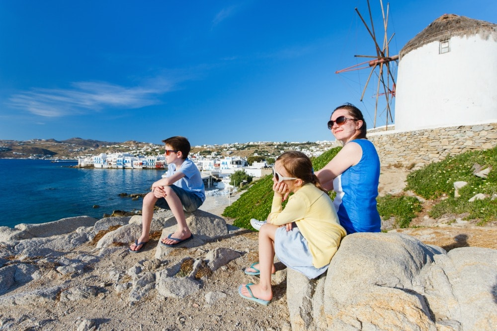 Mykonos Greece - Best Family Vacations