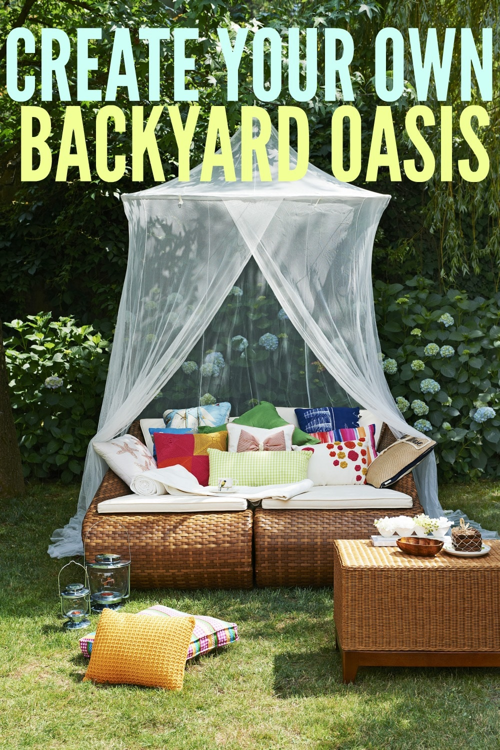 Create Your Own Backyard Oasis