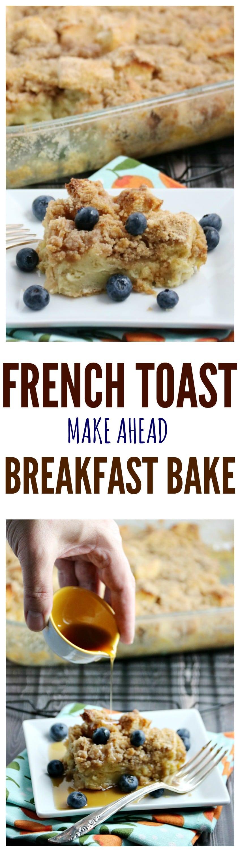 Overnight French Toast Breakfast Bake