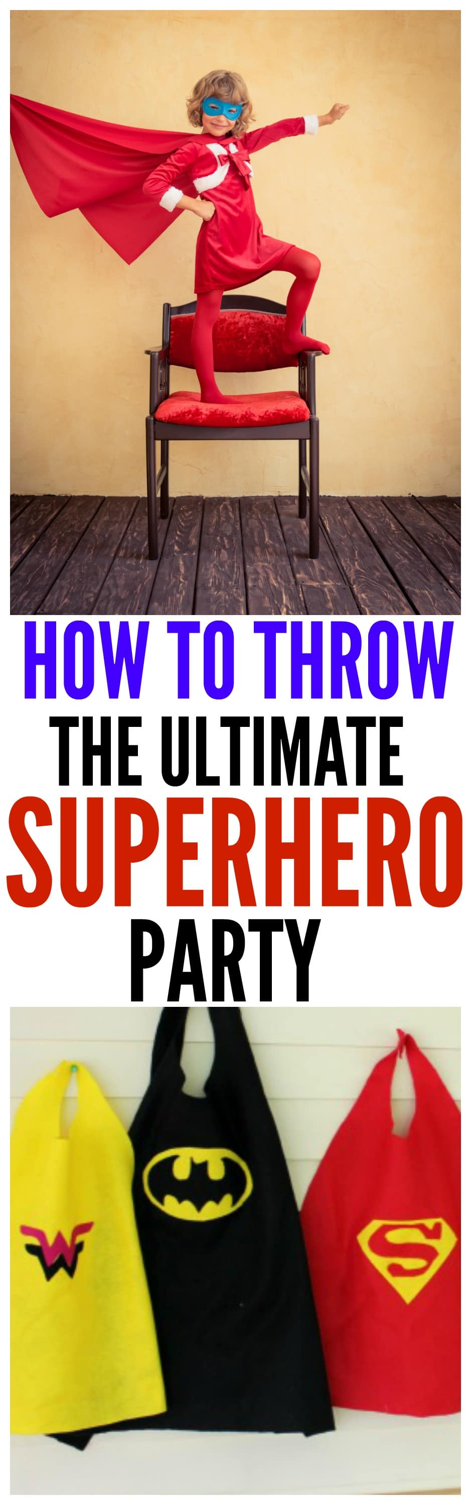 ultimate superhero party