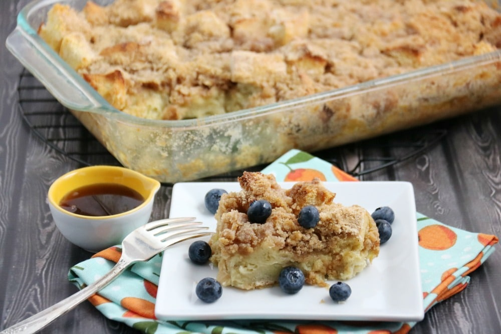 french toast breakfast bake