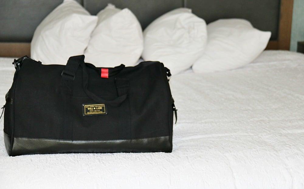 WillLand Bags Noir Wabana Duffle Bag