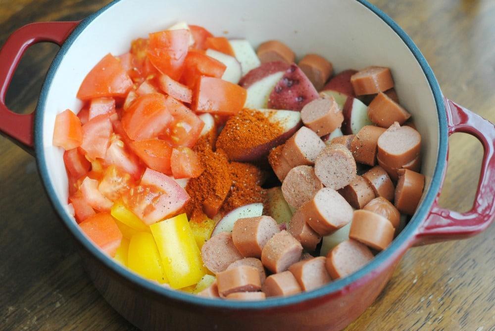 Hungarian Goulash Process