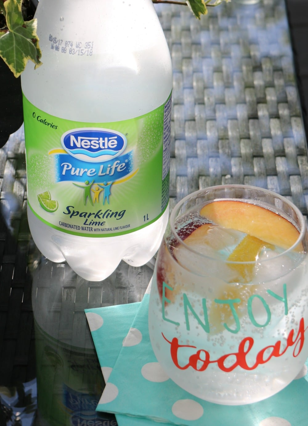 add some sparkle with Nestlé Pure Life Sparkling Water