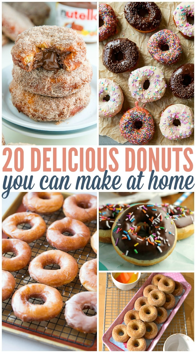 donut recipes you can make at home