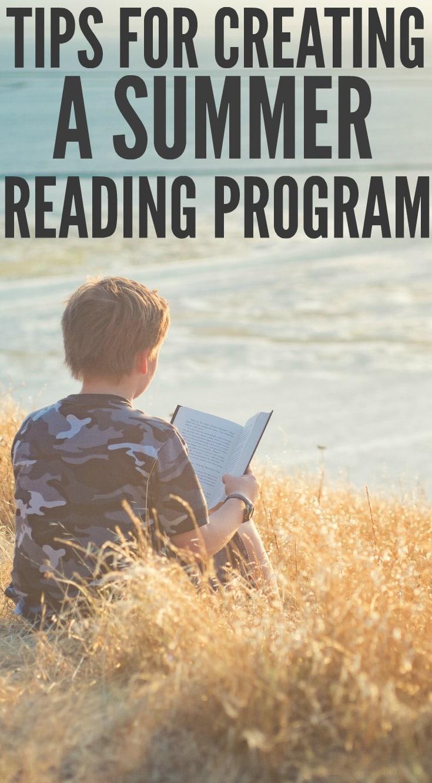 Creating a Summer Reading Program