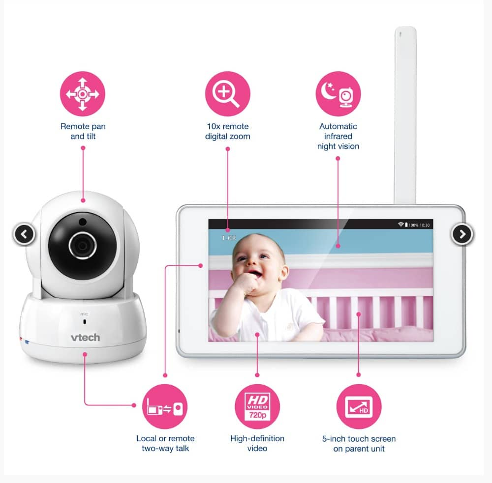 best video baby monitor