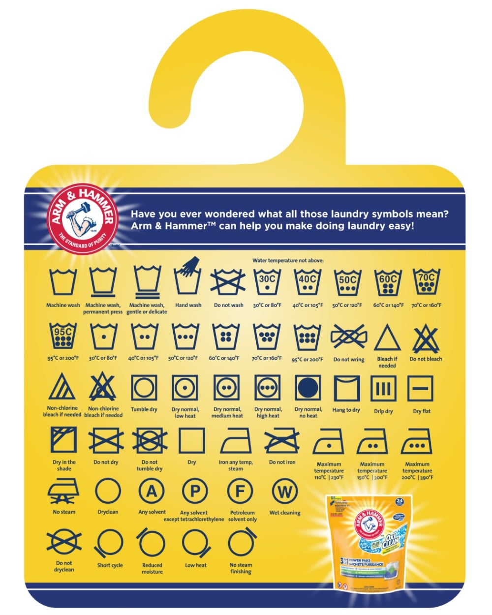 Arm and Hammer Laundry Tips