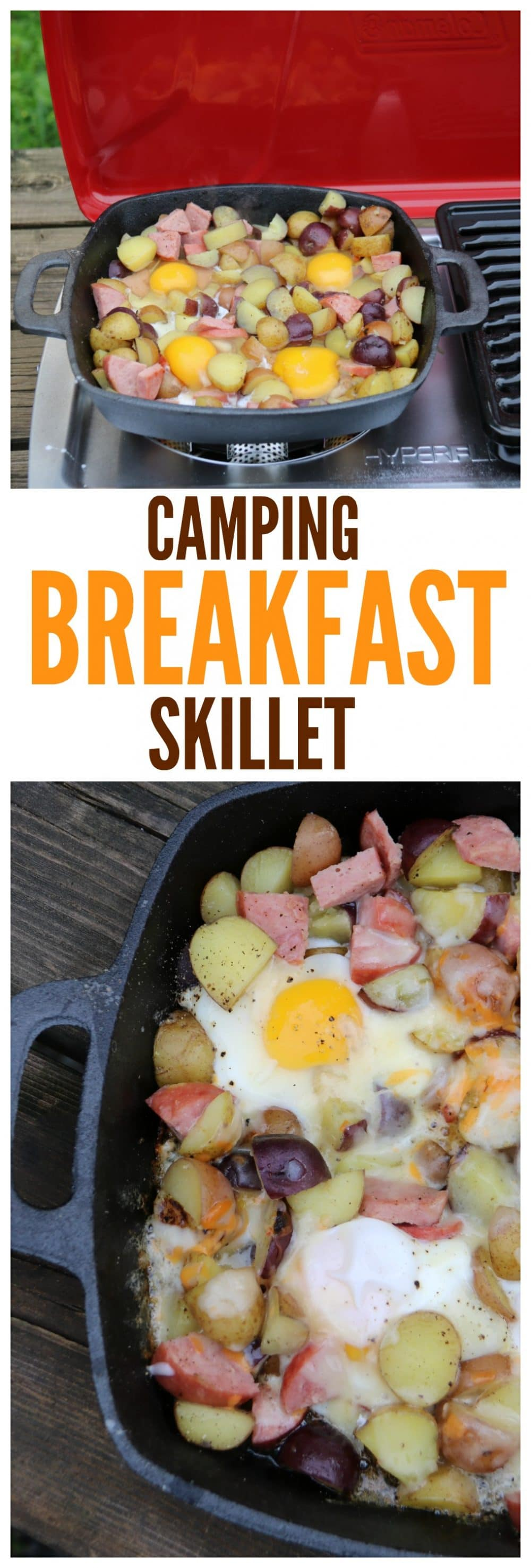 Stove or Campfire Camping Breakfast Skillet Recipe