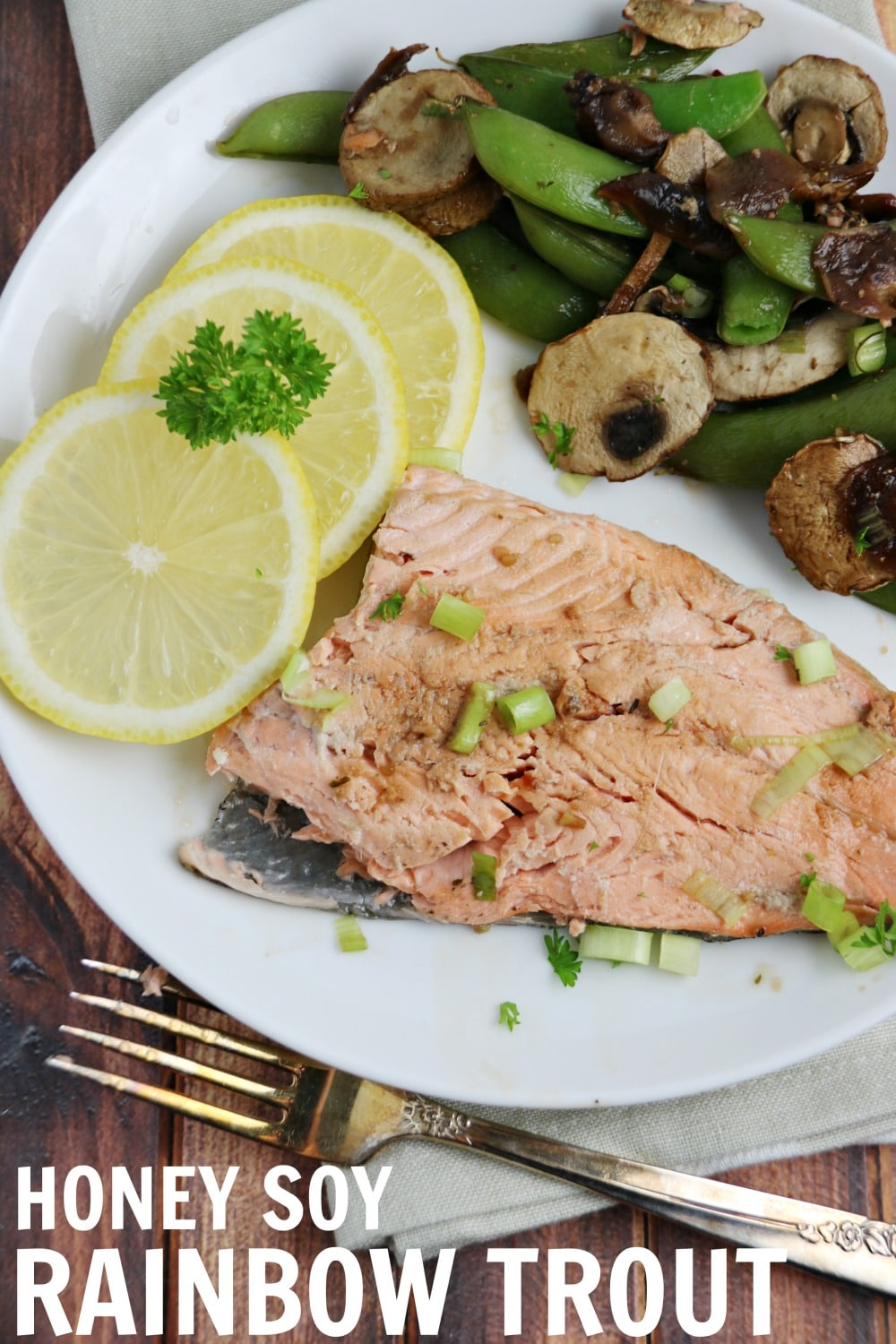 HONEY SOY rainbow trout