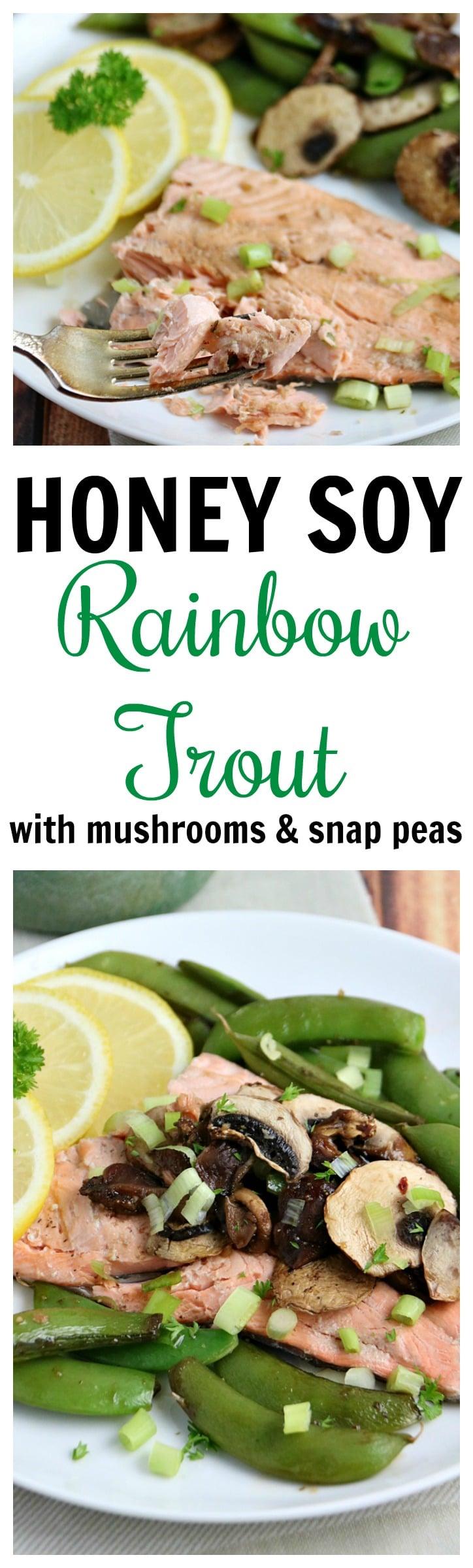 Honey Soy Rainbow Trout