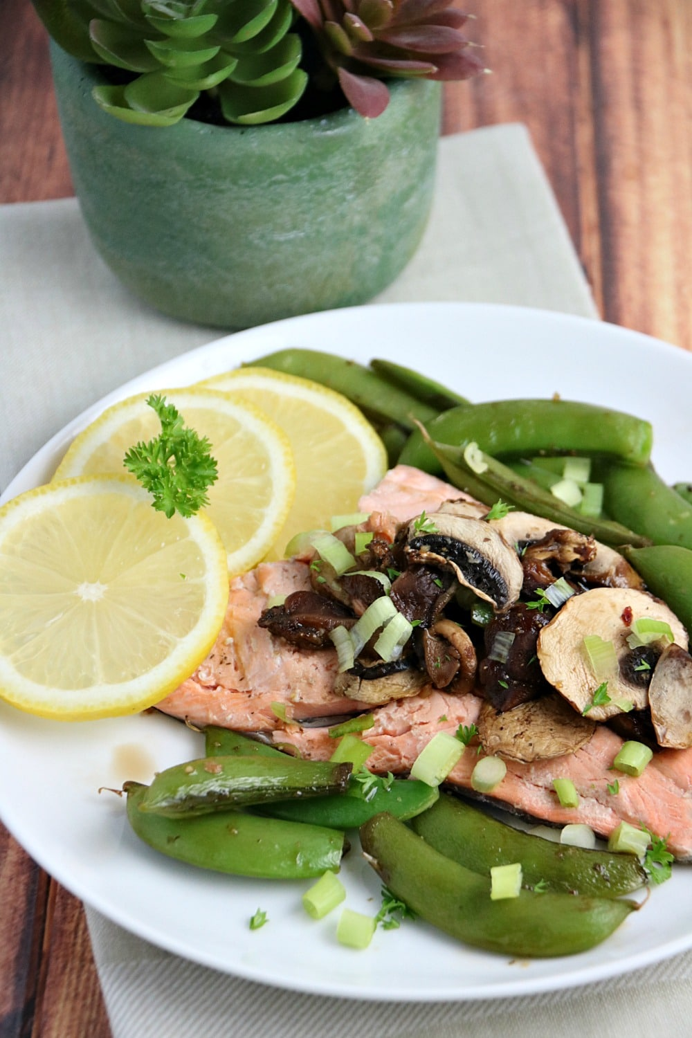 Honey and Soy Rainbow Trout