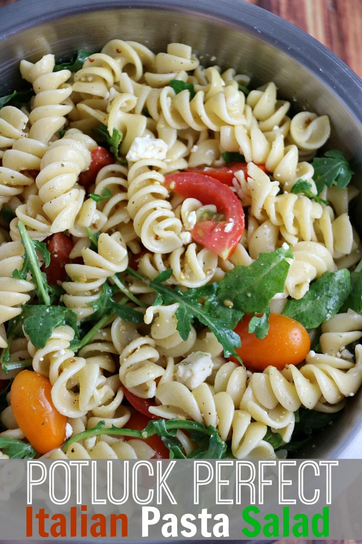 Potluck Perfect Italian Pasta Salad Recipe