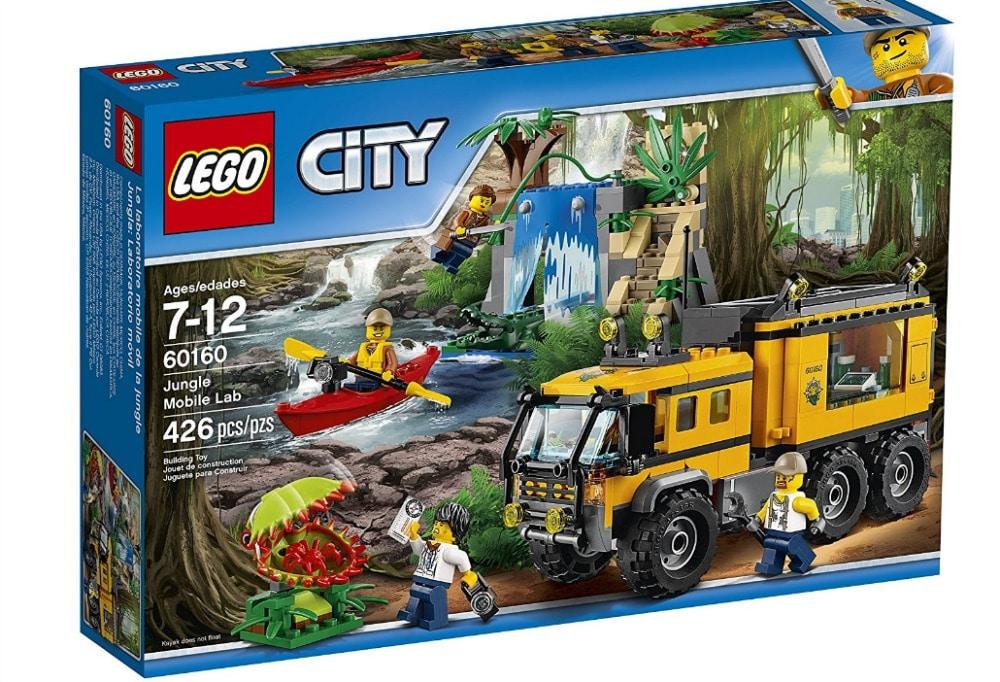 Lego Time - Jungle Mobile Lab
