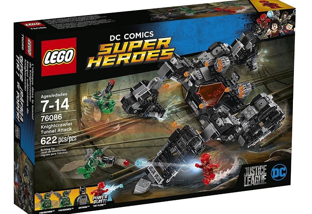 Lego time - DC Comics Knightcrawler Tunnel Attack