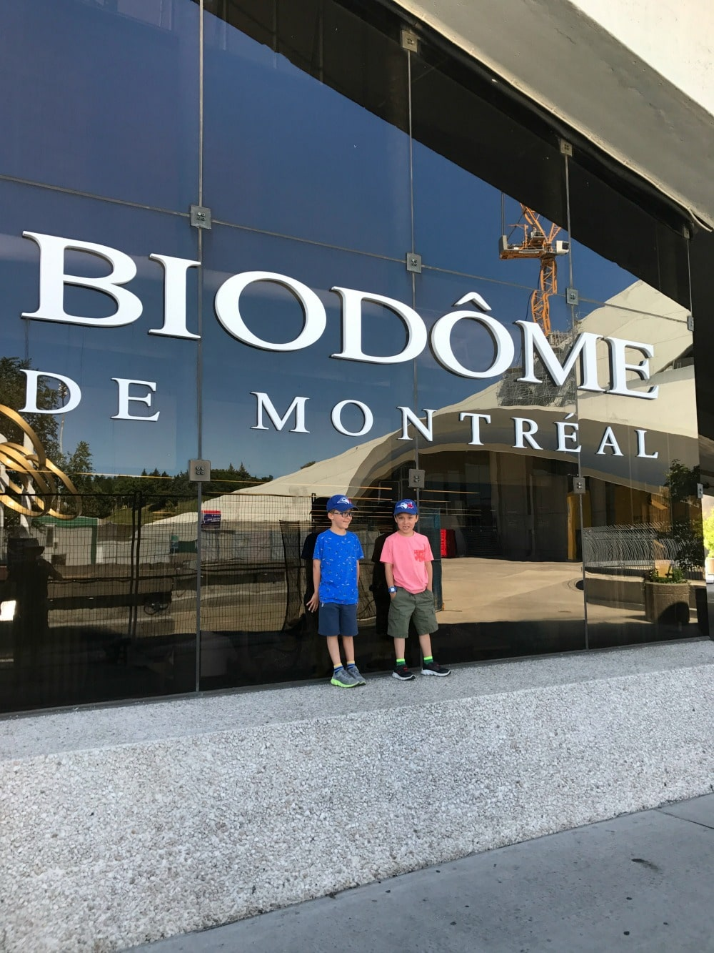 Montreal Biodome with Kids