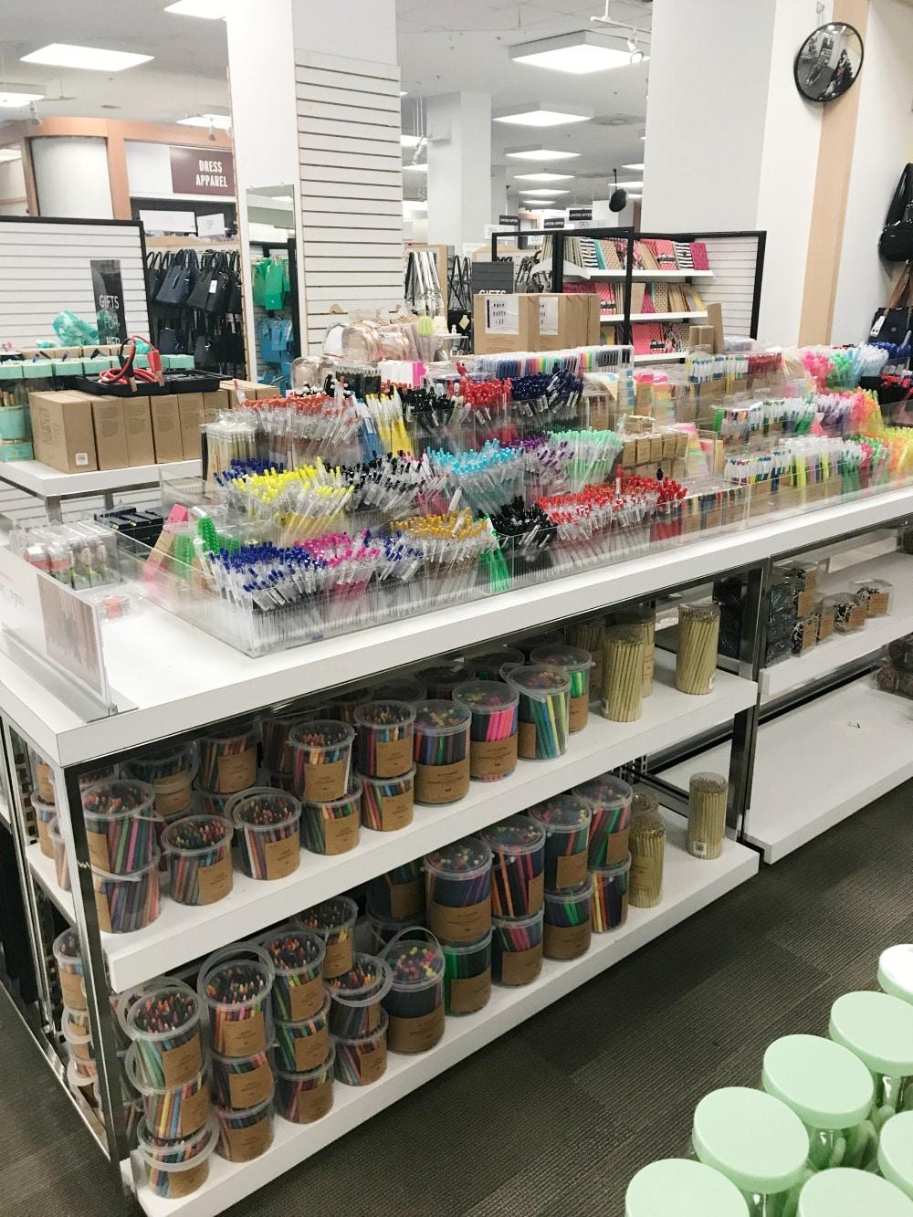 Sears Back to School Pens