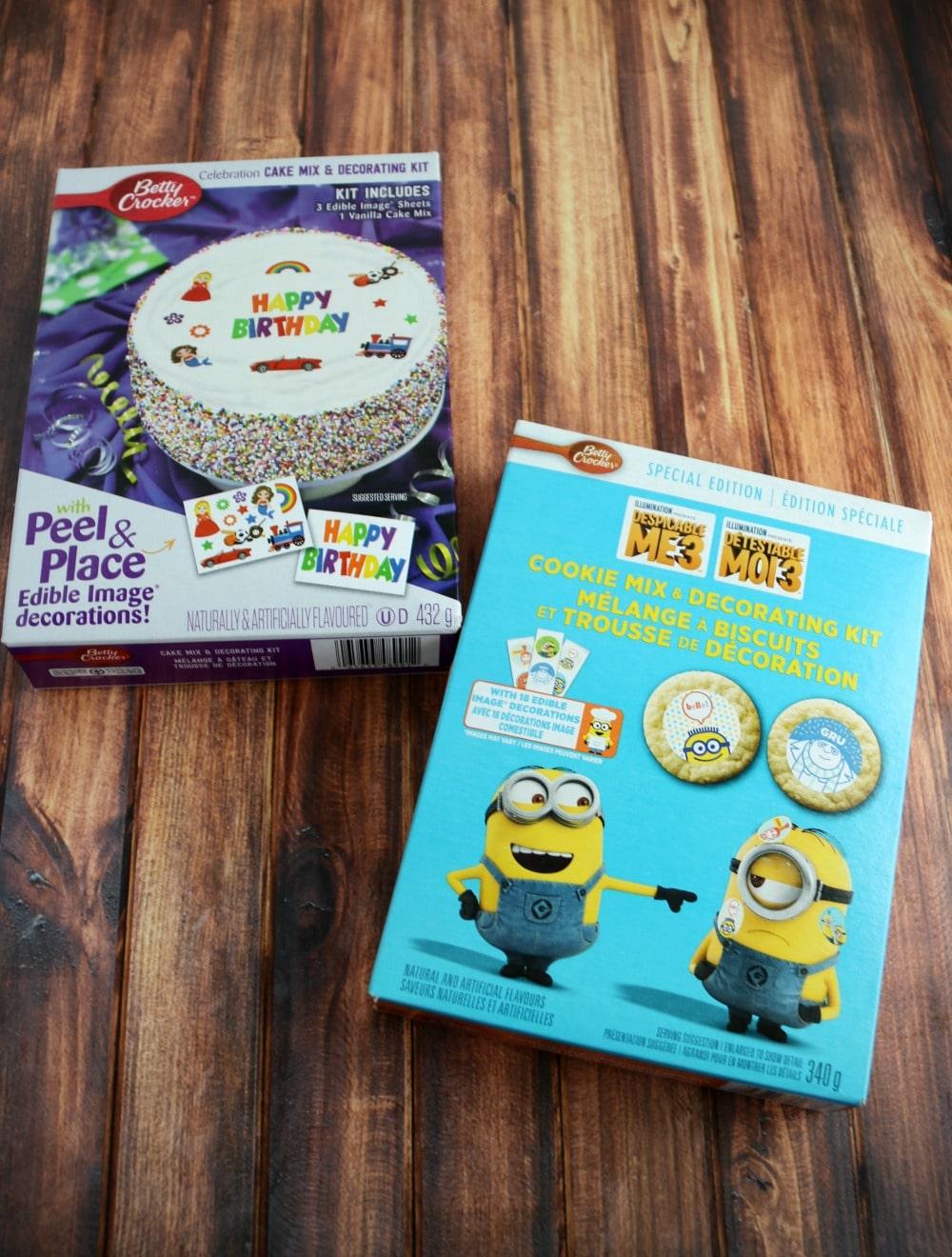 Betty Crocker Edible Image Kits