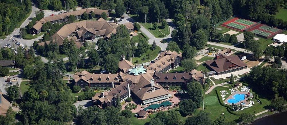 Le Chateau Montebello Aerial View