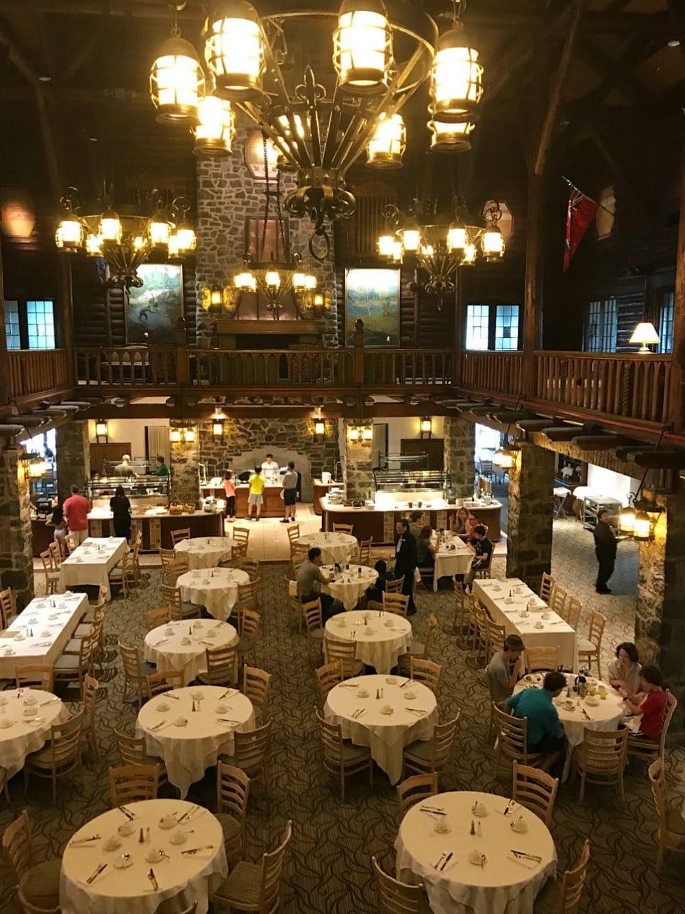 Le Chateau Montebello Dining