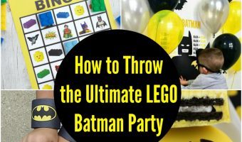 How to Throw the Ultimate LEGO Batman Party