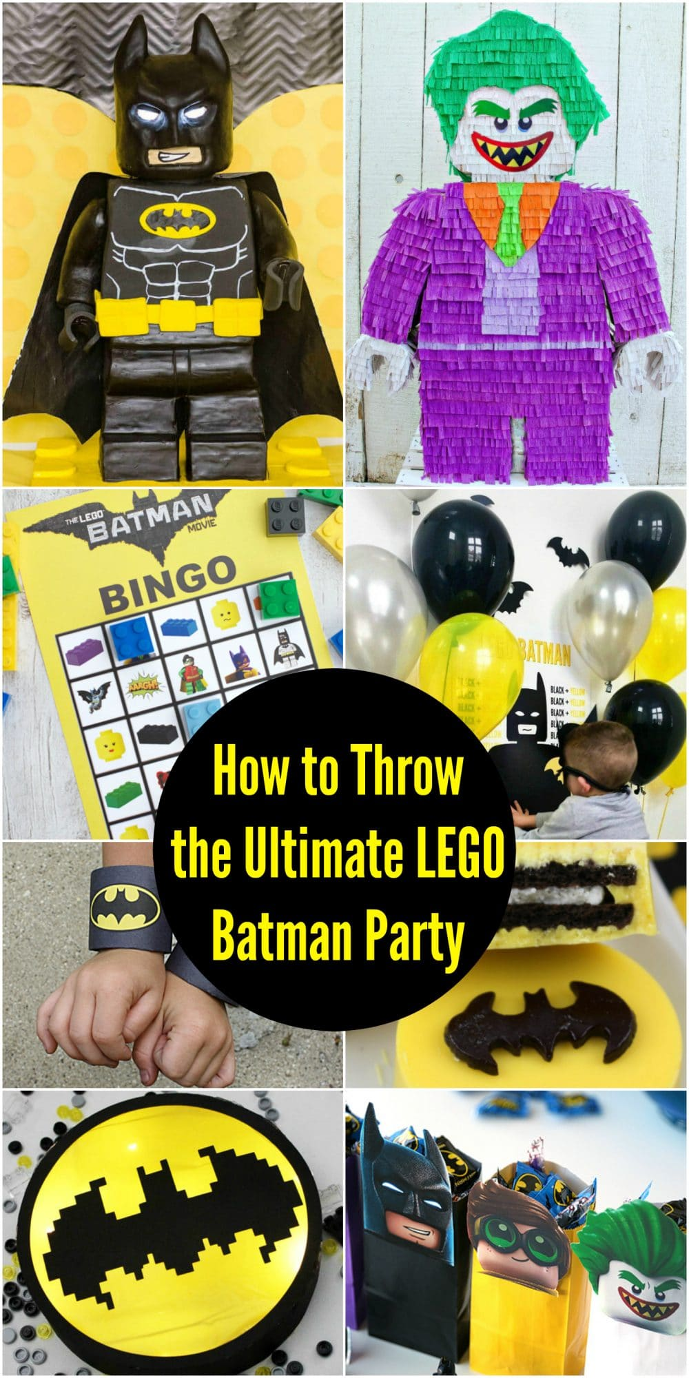 Ultimate LEGO Batman party ideas