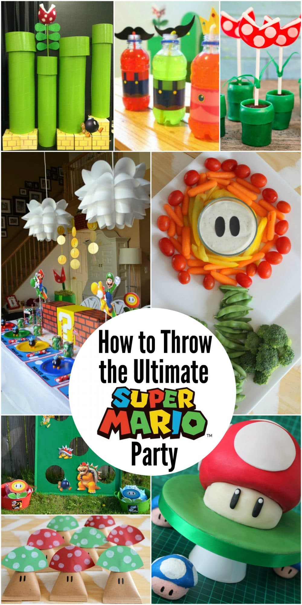 How to Throw the Ultimate Super Mario Party