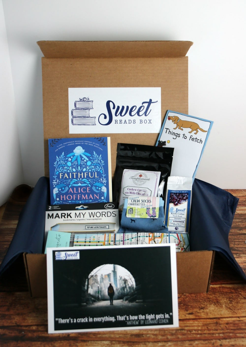 October Sweet Reads Box
