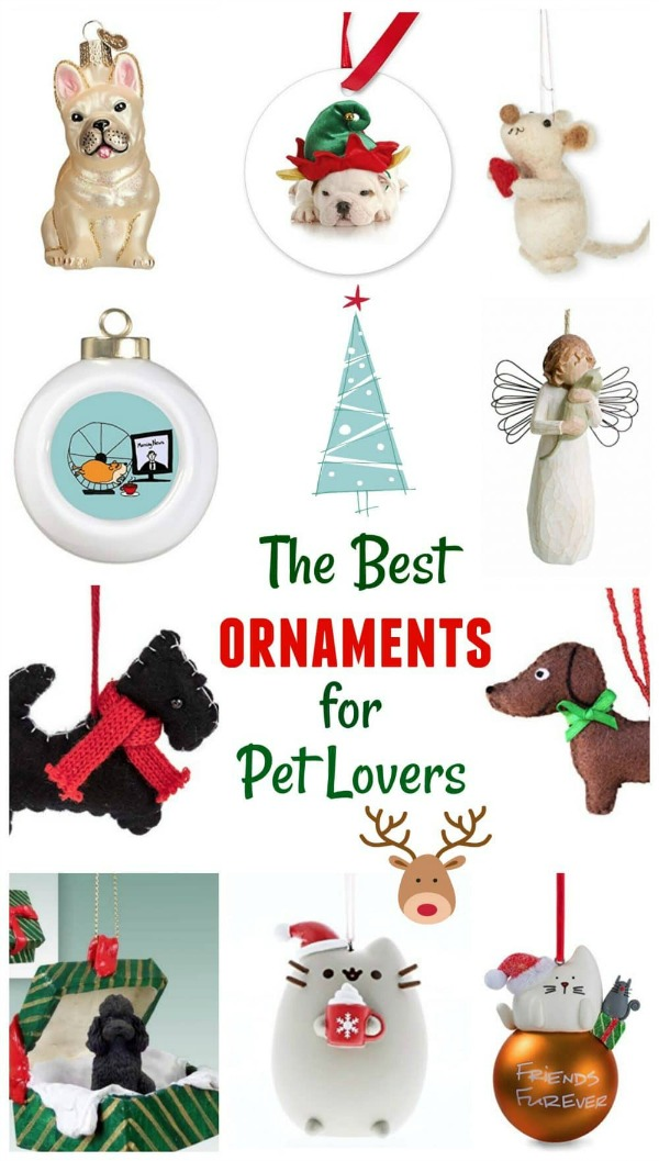 Best holiday ornaments for pet lovers
