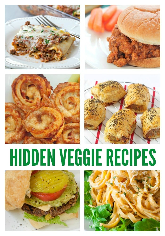 Hidden Veggie Recipes