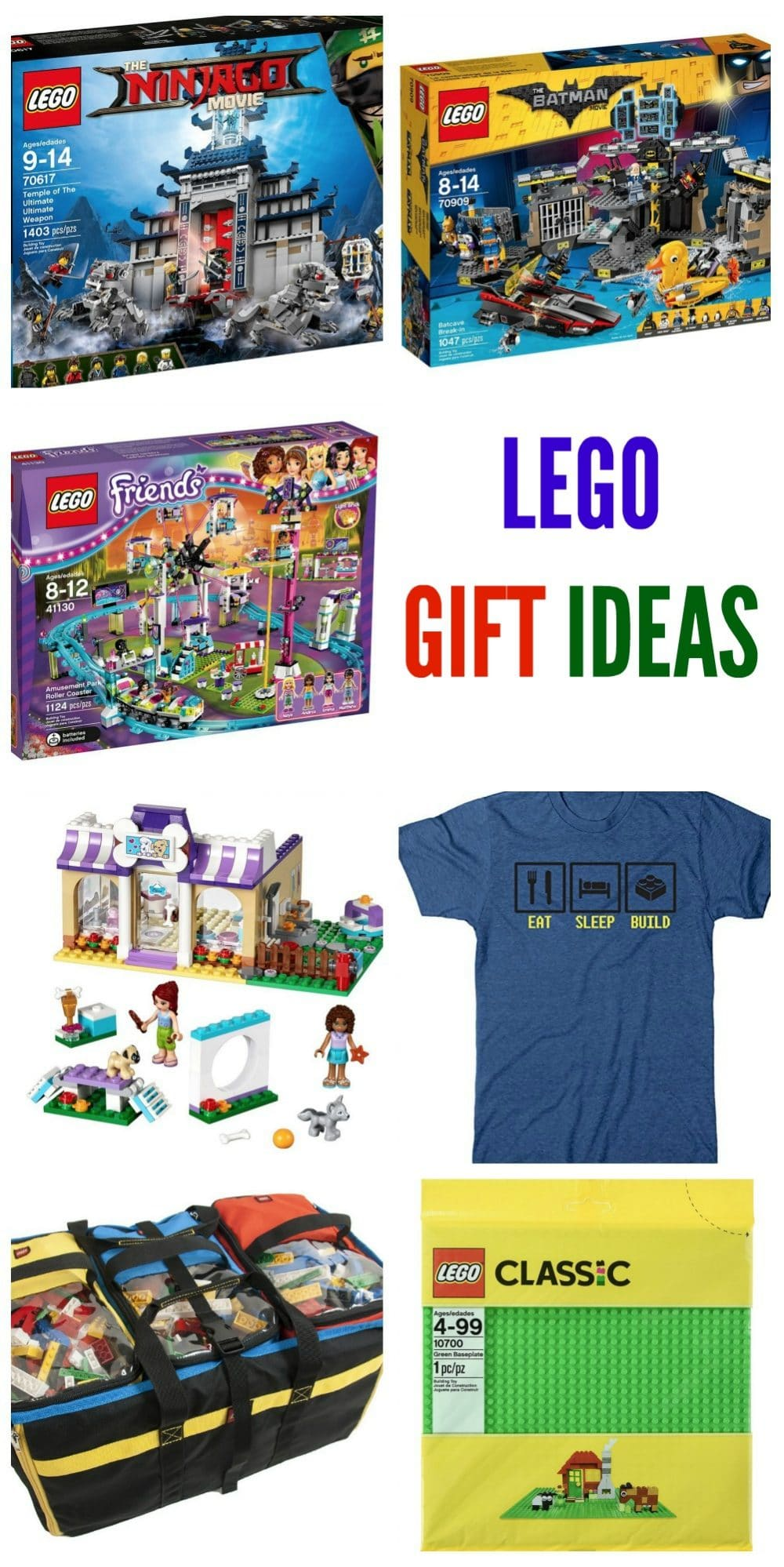 LEGO Gift Ideas for everyone on your list