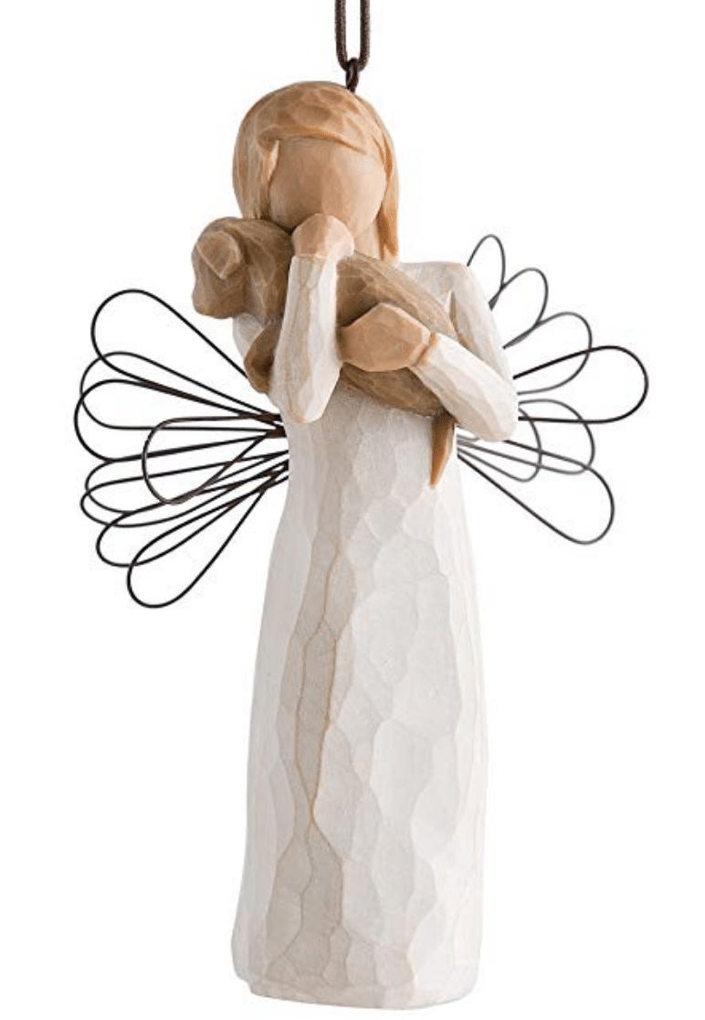 Pet ornament - angel of friendship
