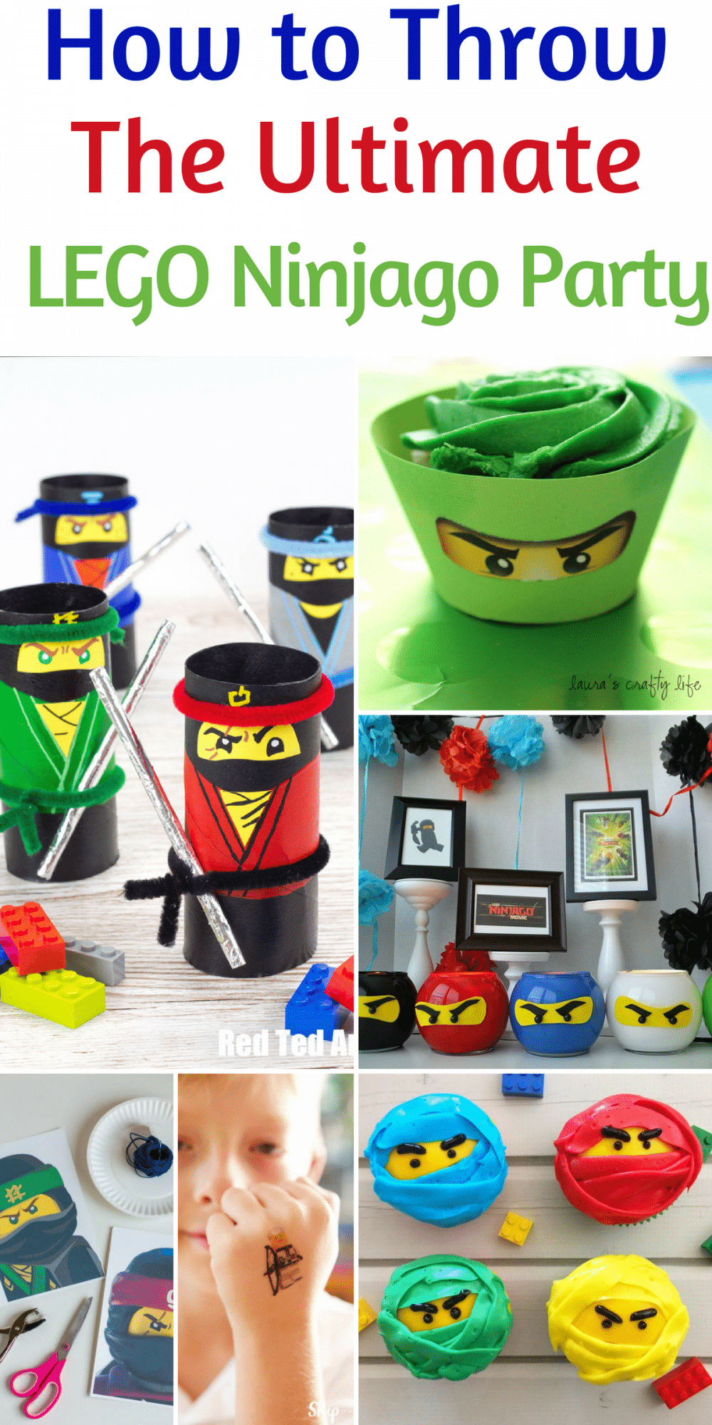How to Throw the Ultimate Lego Ninjago Party